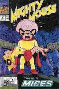 """""""Yesterday's"""" Comic> Mighty Mouse #4(Marvel)"""