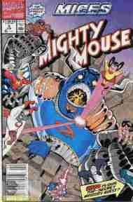 """""""Yesterday's"""" Comic> Mighty Mouse #5(Marvel)"""
