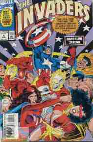 """""""Yesterday's"""" Comic> The Invaders#4"""
