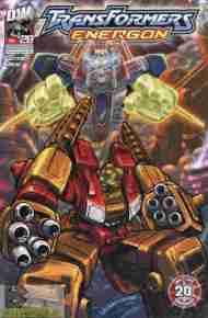 """Yesterday's"" Comic> Transformers Energon#28"