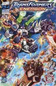 """Yesterday's"" Comic> Transformers Energon#29"