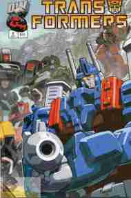 """""""Yesterday's"""" Comic> Transformers: Generation One vol 2#2"""