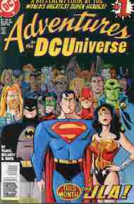 """Yesterday's"" Comic> Adventures In The DC Universe #1"