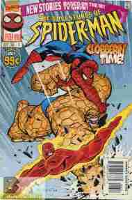 """Yesterday's"" Comic> The Adventures Of Spider-Man #6"