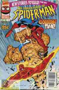 All the excitement...of an average day with the Thing and Human Torch.