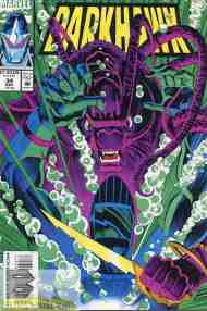 """Yesterday's"" Comic> Darkhawk #34"