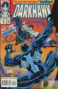 """Yesterday's"" Comic> Darkhawk #35"