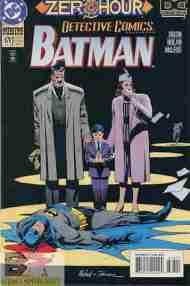 """""""Yesterday's"""" Comic> Detective Comics #678(post-Crisis)"""