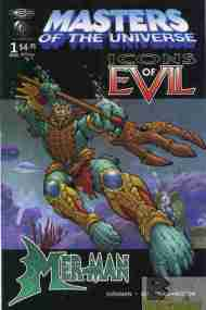 """""""Yesterday's"""" Comic> Masters Of The Universe: Icons Of Evil –Mer-Man"""