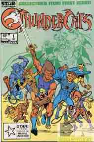 """Yesterday's"" Comic> Thundercats #1 (StarComics)"
