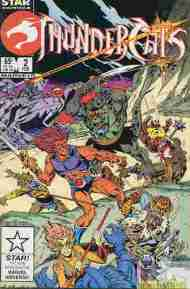 """Yesterday's"" Comic> Thundercats #2 (Star)"
