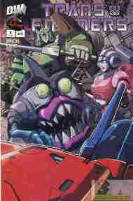 """Yesterday's"" Comic> Transformers: Generation One Vol 2 #4"