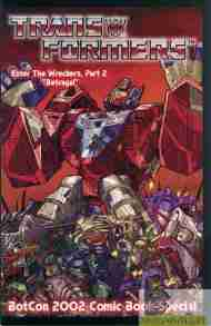 """Yesterday's"" Comic> Transformers: The Wreckers #2"