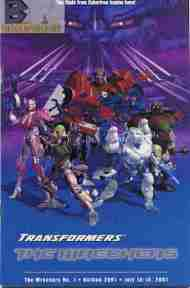 """Yesterday's"" Comic> Transformers: The Wreckers (Botcon)"