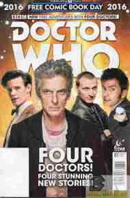 """Today's"" Comic> Doctor Who FCBD 2016"
