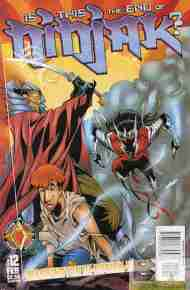 """Yesterday's"" Comic> Ninjak Vol. 2 #12 (FINAL ISSUE)"