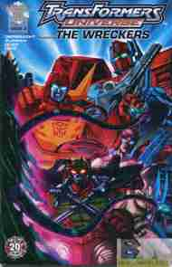 """Yesterday's"" Comic> Transformers Universe Featuring The Wreckers #3"