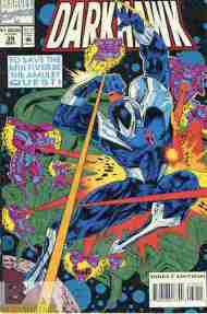 """Yesterday's"" Comic> Darkhawk #39"
