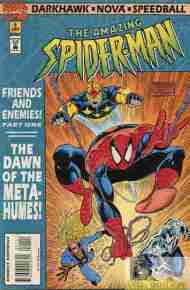 """Yesterday's"" Comic> Spider-Man: Friends And Enemies #1"