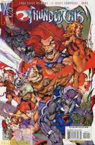 """Yesterday's"" Comic> Thundercats#0"