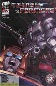 """Yesterday's"" Comic> Transformers Generation One v3 #5"