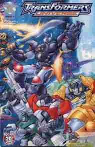 """Yesterday's"" Comic> Transformers Universe #1"