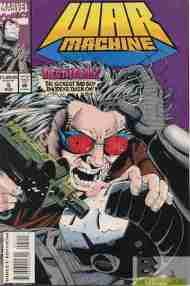 """""""Yesterday's"""" Comic> War Machine#5"""