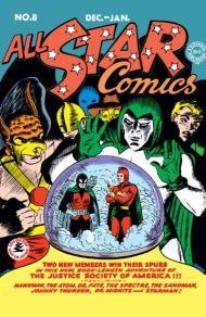 """Yesterday's"" Comic> All-Star Comics#8"