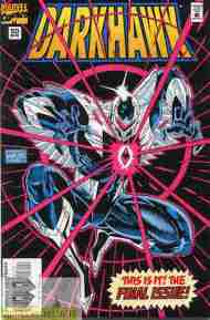 """Yesterday's"" Comic> Darkhawk #50"