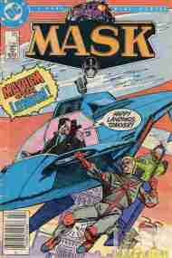 """Yesterday's"" Comic> MASK #3 (miniseries)"