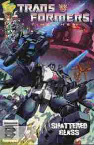 """Yesterday's"" Comic> Transformers Timelines v2 #3"