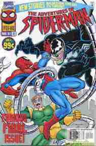 """""""Yesterday's"""" Comic> The Adventures Of Spider-Man#12"""