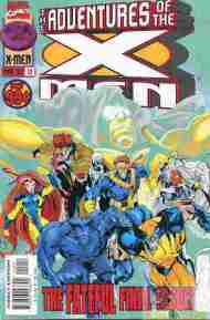 """Yesterday's"" Comic> The Adventures Of The X-Men #12"