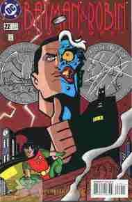 """Yesterday's"" Comic> Batman & Robin Adventures #22"