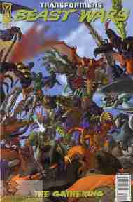 """Yesterday's"" Comic> Transformers: Beast Wars #1"
