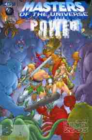 """Yesterday's"" Comic> Masters Of The Universe: Dream Halloween"
