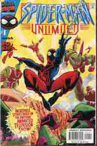 """Yesterday's"" Comic> Spider-Man Unlimited #1"