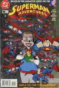 """""""Yesterday's"""" Comic> Superman Adventures#10"""
