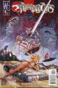 """Yesterday's"" Comic> Thundercats #4 (WildStorm)"