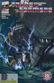 """Yesterday's"" Comic> Transformers: Generation One vol 3 #8"