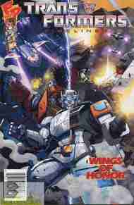 """""""Yesterday's"""" Comic> Transformers Timelines vol 2#4"""