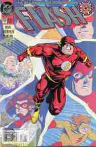 """Yesterday's"" Comic> Flash #0"