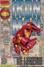 """""""Yesterday's"""" Not-A-Comic> Iron Man: TheLegend"""