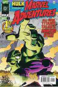 """Yesterday's"" Comic> Marvel Adventures #1"