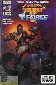 """Yesterday's"" Comic> Mr. T & The T-Force #3"