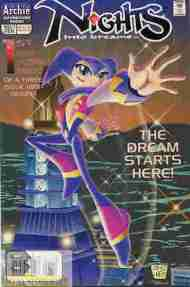 """Yesterday's"" Comic> NiGHTS Into Dreams #1"