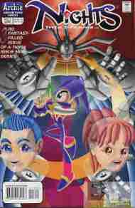 """Yesterday's"" Comic> NiGHTS Into Dreams #3"