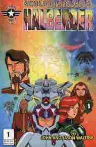 """Yesterday's"" Comic> Noble A.R.M.O.U.R. Halberder#1"