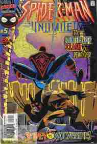 """Yesterday's"" Comic> Spider-Man Unlimited #5"