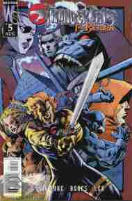 """Yesterday's"" Comic> Thundercats: The Return #5"